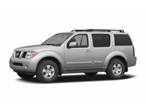 2006 Nissan Suv 2006 Nissan Pathfinder S A5 Suv Ratings Prices Trims