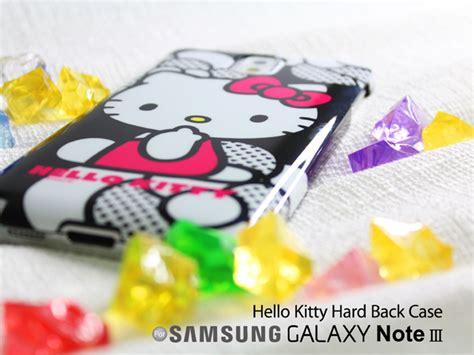 Casing Samsung Galaxy Note 3 Hello Custom Hardcase samsung galaxy note 3 hello back