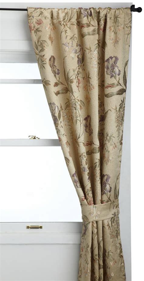 croscill iris curtains iris jacquard 84 x 41 quot pole top drape irises ps and tops