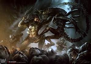 avp aliens predator favourites aesirthedarkone deviantart