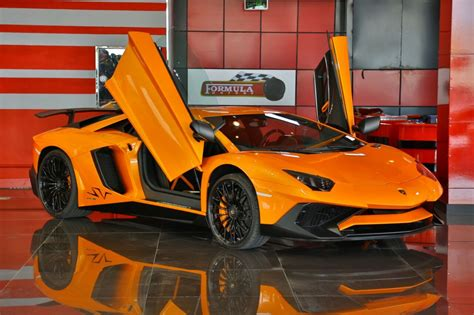 Lamborghini Aventador In Orange Orange Lamborghini Aventador Sv For Sale In