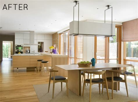 kitchen and dining room combination makeovers before after high end kitchen dining room makeover