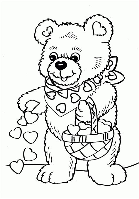Printable Valentines Coloring Page 1000 Images About 1000 Coloring Pages To Print