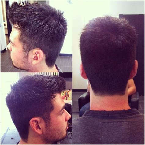 mens haircut 1 5 on sides and scissor cut on top awesome men s cut faded on the sides 1 2 3 and scissor