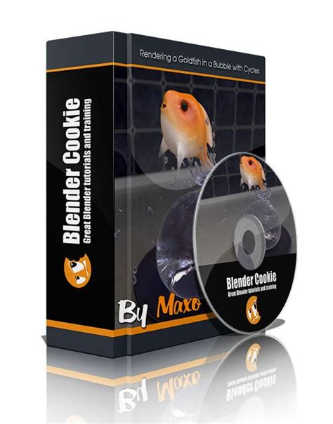 werewolf tutorial at blender cookie blender cookie rendering a goldfish in a bubble with