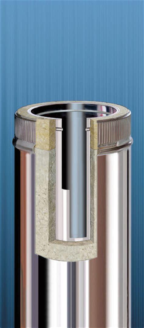 schouw reinigen mazout dubbelwandig ge 239 soleerde rookafvoerkanalen flexinox