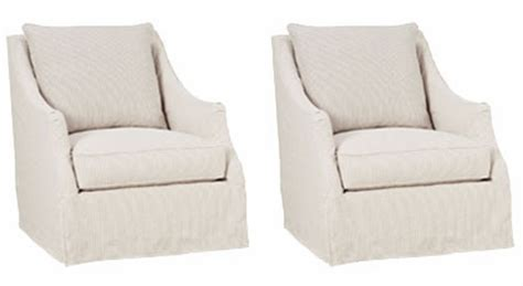 slipcovers for swivel chairs set of 2 giuliana quot designer style quot swivel slipcover accent