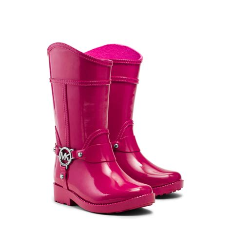 toddler rubber boots michael kors girl s fulton rubber boot toddler in