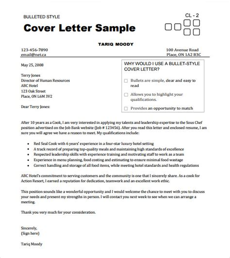 cover letter chef cv 13 chef resume templates documents in pdf