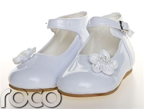 white infant shoes baby white shoes christening wedding flower