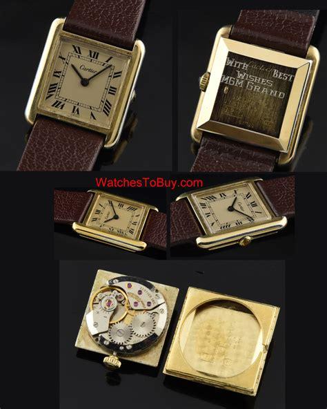 cartier vintage 80 s watchestobuy