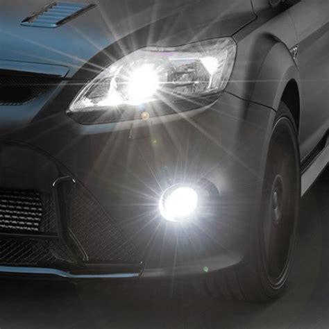 Lu Led Xenon Motor 2x h4 68 led 4w 3528 smd xenon white car led high low beam fog lights bulbs