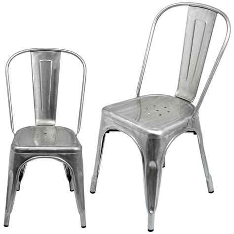 Metal Kitchen Chair xavier pauchard a chair galvanized chair