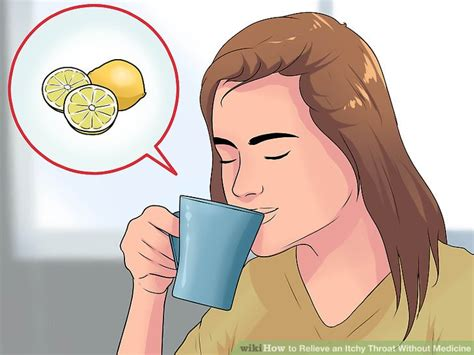itching medicine 4 ways to relieve an itchy throat without medicine wikihow