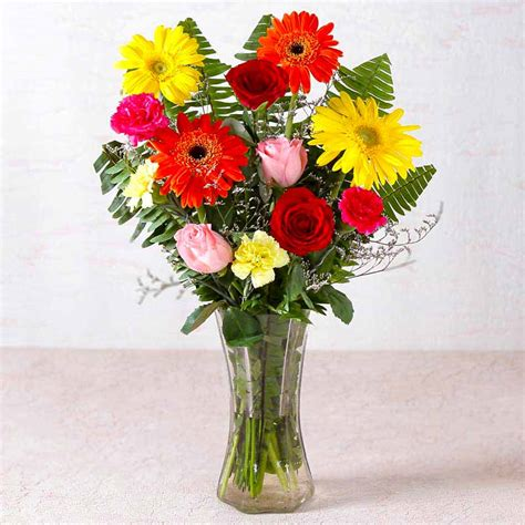Fresh Flowers In Vase by Beautiful Vase Of Fresh Flowers India
