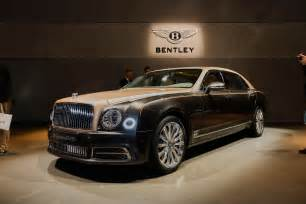 Bentley Mullsane 2017 Bentley Mulsanne Preview Live Photos And