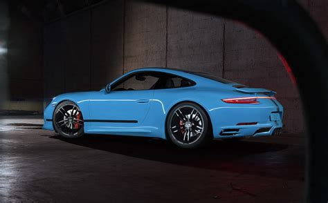 porsche carrera back techart announces new tuning kits for 991 2 porsche 911