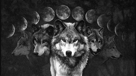 Wolf And Moon wolf moon francesco desideri