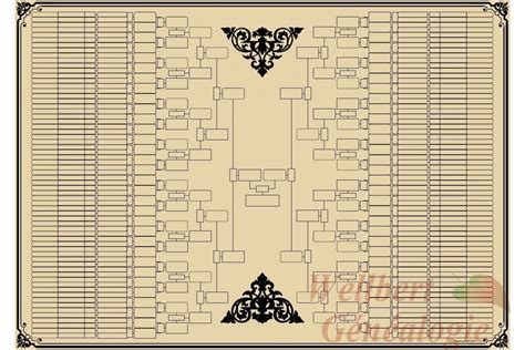 printable 9 generation family tree printable family tree template 9 generations bow tie
