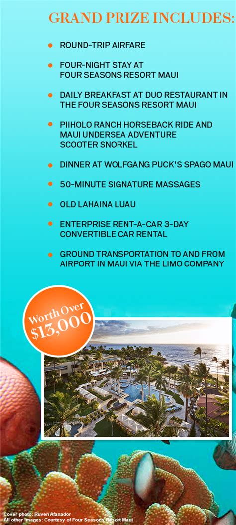 Oprah Com Maui Sweepstakes - oprah magazine four seasons resort maui sweepstakes