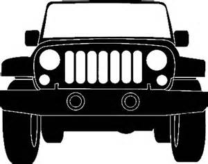 Jeep Grill Jeep Silhouette Illustration Jeep