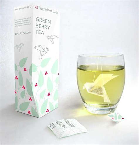 Paper Look With Tea - origami tea bags nathalia ponomareva s green berry tea