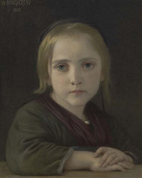 william adolphe bouguereau young girl european painting and sculpture snite museum of art