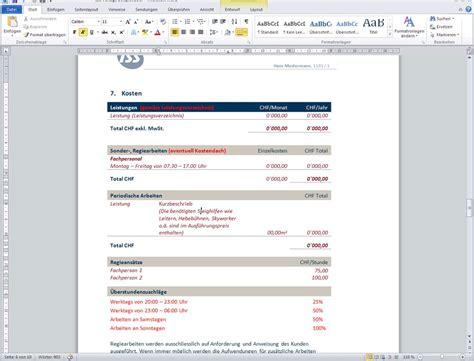 Word Vorlage Mit Feldern Erstellen Iss Word Vorlage Mit Eingabeassistenten F 252 R Offerten Webtechnologie Partner Z 252 Rich