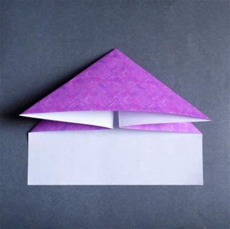 Origami Using Rectangular Paper - how to do origami with a rectangle shaped paper lovetoknow