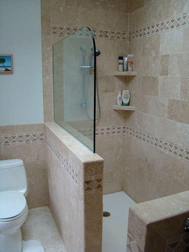 half wall shower copy of 2nd fl shower half wall flickr photo