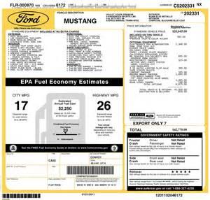 new car window sticker auto loan resources auto loans page 2