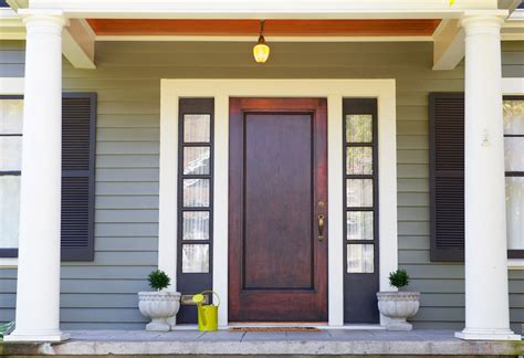 Wood Front Doors Replace Your Wood Front Door For Function And Elegance