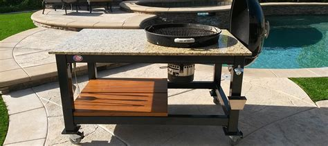 table with grill built in table gallery brian alan tables
