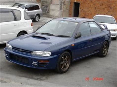 automotive repair manual 1996 subaru impreza regenerative braking 1996 subaru impreza wrx photos 2 0 gasoline manual for sale