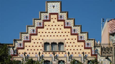 Architectural Styles by Casa Amatller Meet Barcelona