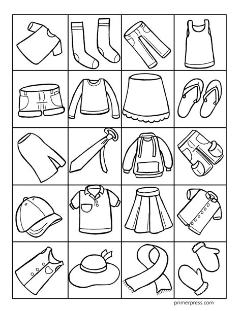 cool ideas coloring pages clothes printable free