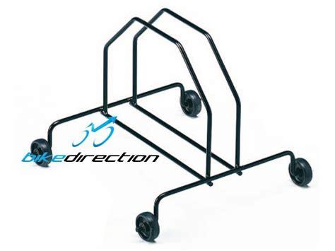 piedistallo per bici cavalletto supporto ruota bici gist mtb con ruote