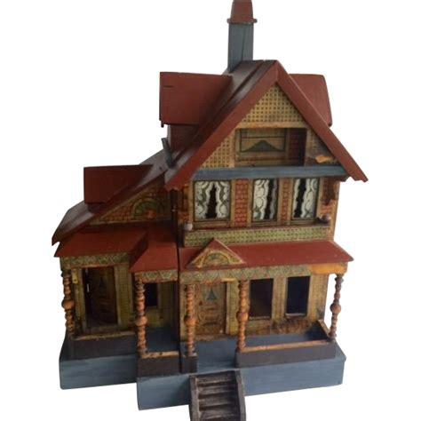 r bliss dollhouse beautiful antique bliss seaside dollhouse litho ca 903