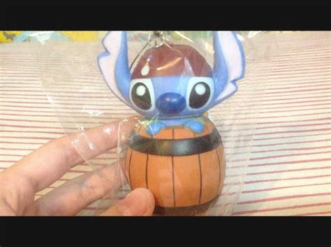 Squishy Licensed Box Shop Blueberry Original licensed limited stitch pirate in wooden box squishy