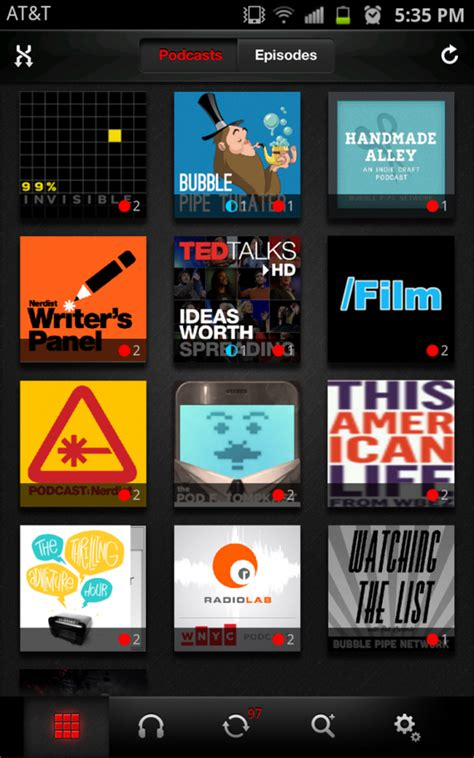 android podcast app top 5 podcast apps for android