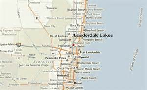 lakes in florida map lauderdale lakes location guide
