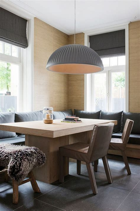 Dining Room Banquette Refined Simplicity 20 Banquette Ideas For Your Scandinavian Dining Space
