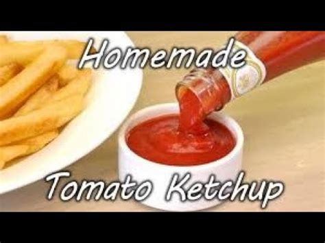 HOMEMADE KETCHUP SUPERB RECIPE FROM FRESH TOMATOES - YouTube Homemade Ketchup Recipe Fresh Tomatoes