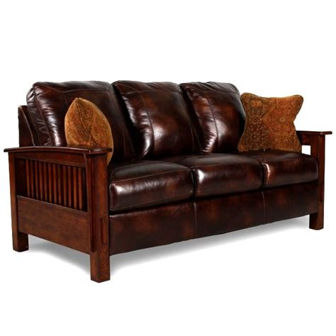 Craftsman Leather Sofa Mission Style Sofa Leather 63 Best Mission Chairs Images On Morris Chair Thesofa