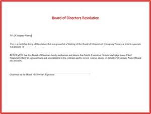 board resolutions template board resolution templates 4 sles for word and pdf