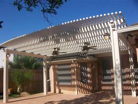 Aluminum Pergola Crosby Lone Patio Metal Pergola In Lone Patio Builders