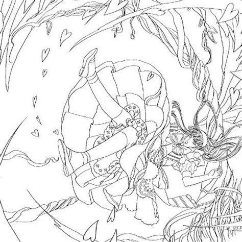 Color The Classics Alice In Wonderland A Curiouser