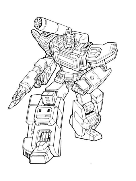 printable transformers autobot coloring pages  boys