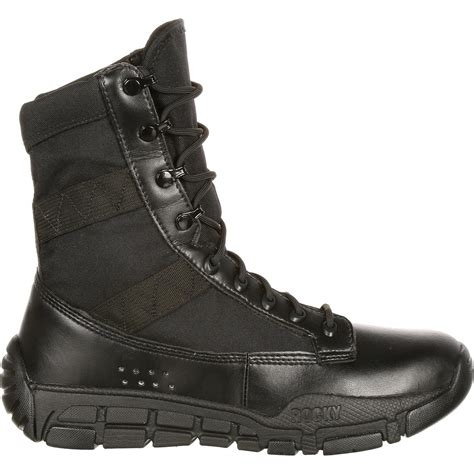 rocky c4t s inspired black duty boots ry008