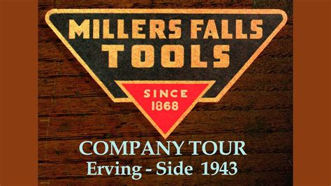factory  millers falls tools  youtube